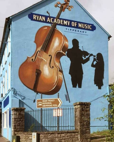 Mural at Ryan Academy of Music Tipperary