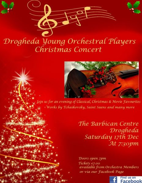 Drogheda Young Orchestral Players Christmas Concert - Irish Association of Youth Orchestras