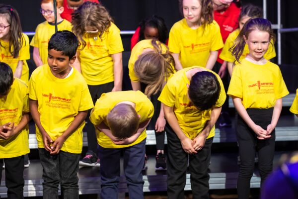 2019 May - Members of the Singfest Explorers regional choir at the 2019 Gala Concert Sat 25 May. Image Paul Moore