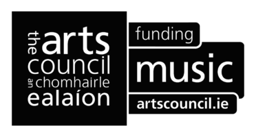 Arts Council of Ireland logo - funding music.