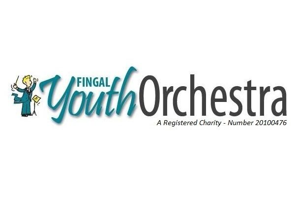 Fingal Youth Orchestra logo and charity number