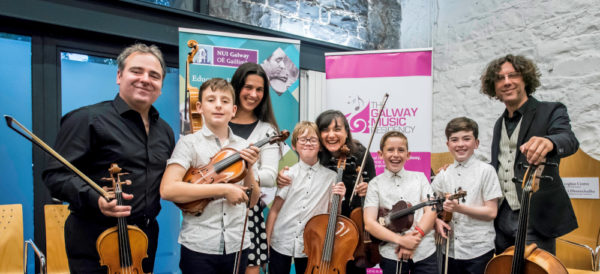 The Galway Music Residency Junior Apprentice Ensemble with the ConTempo Quartet