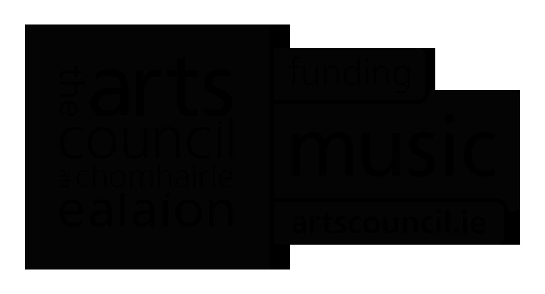 Arts Council funding music logo