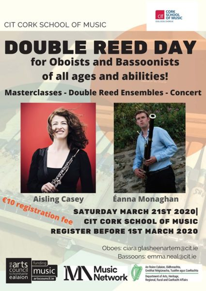 double reed day 2020 poster