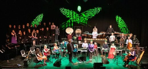Irish Memory Orchestra performing in concert